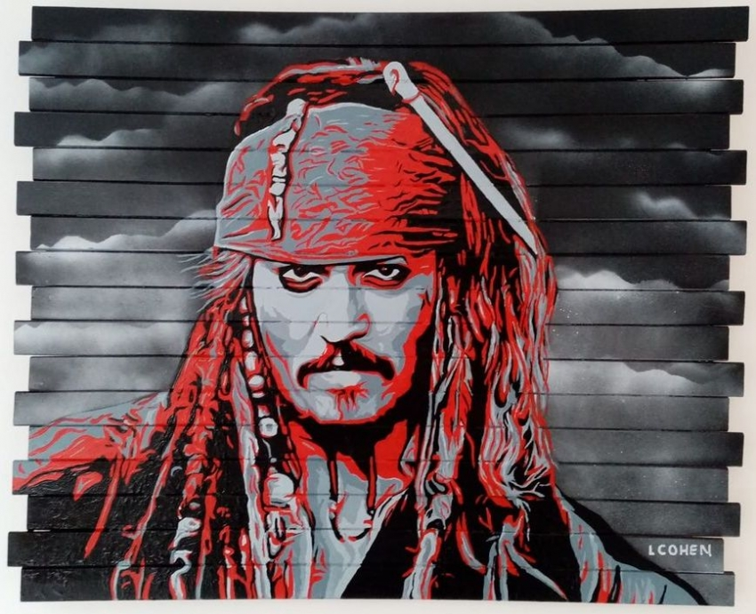 Johnny Depp by LIONEL.COHEN